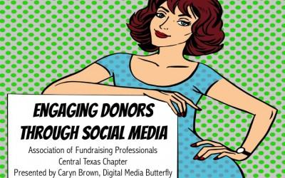 Engaging Donors Through Social Media