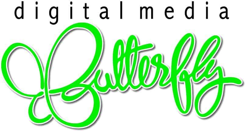 Digital Media Butterfly
