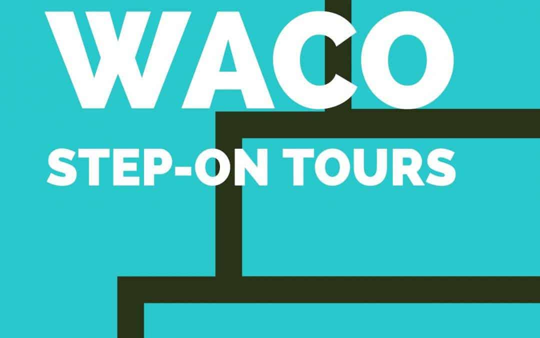 Waco Step-On Tours Logo