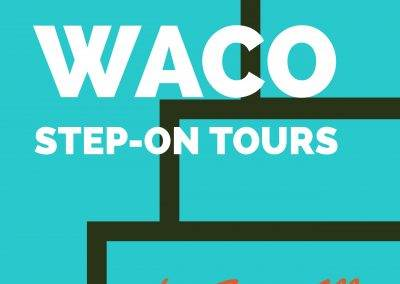 Waco Step-On Tours Logo