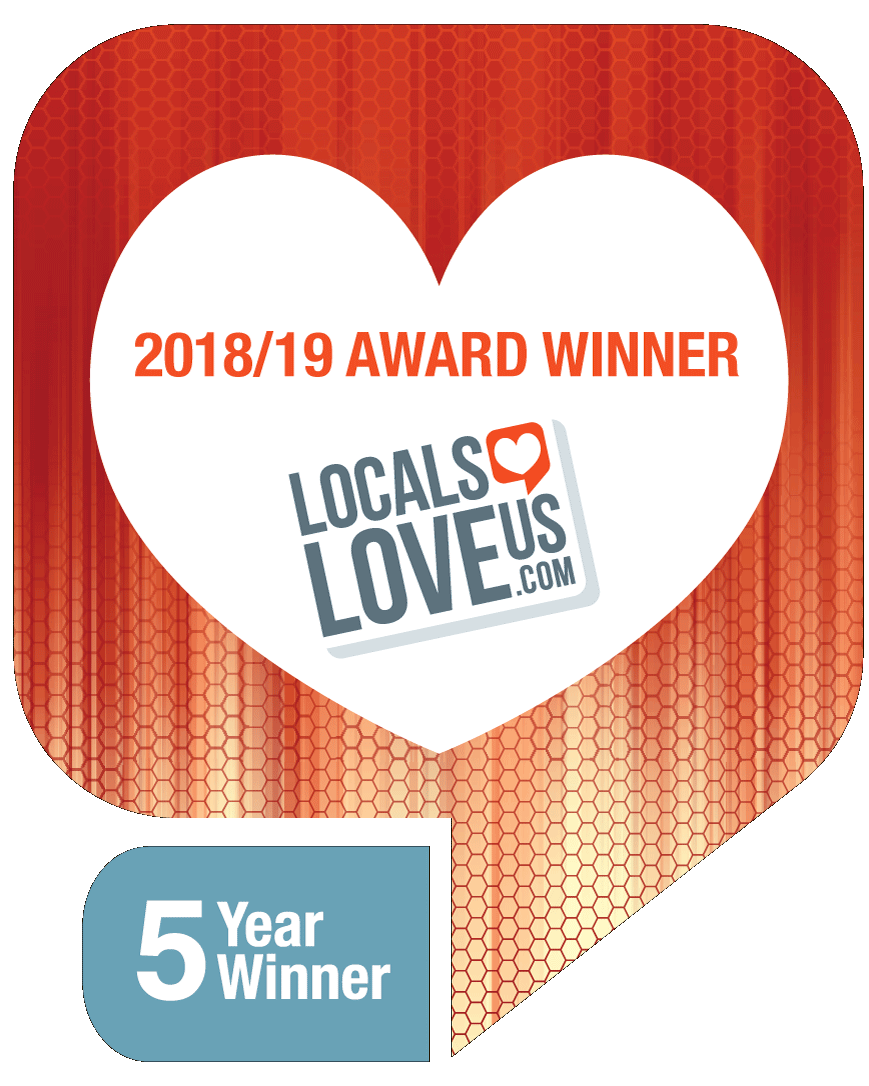 Locals Love Us - 5 Year Winner