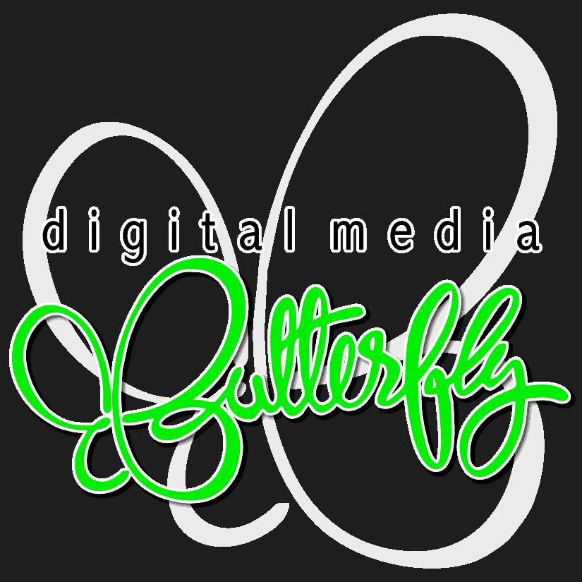 Digital Media Butterfly