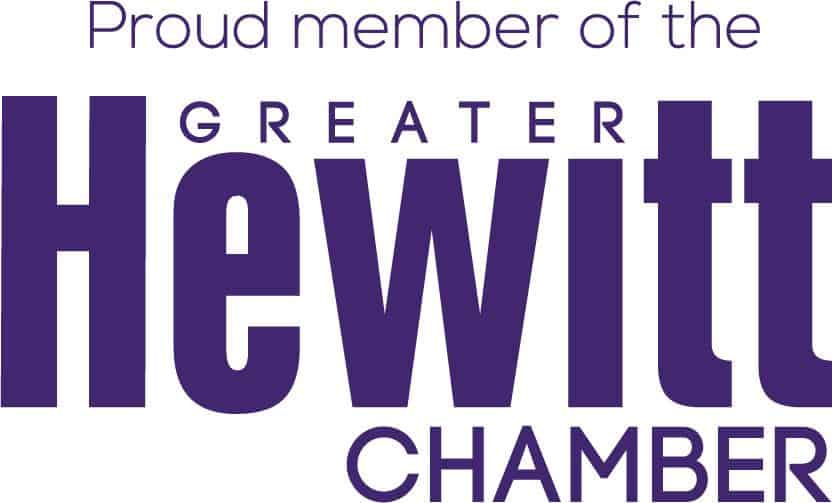 Proud Member of Hewitt Chamber