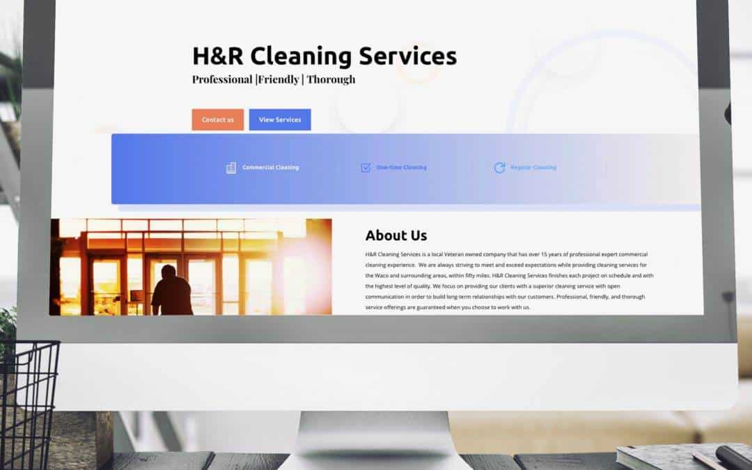 H&R Cleaning Website Wednesday