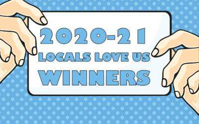 2020 Locals Love Us Winners