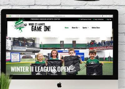Frederick Indoor Sports Center Website