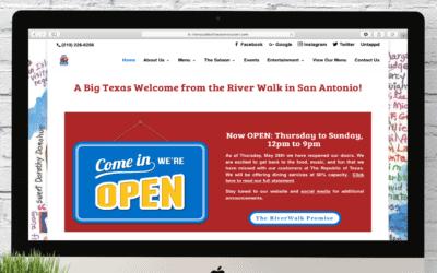 The Republic of Texas Restaurant Website Wednesday