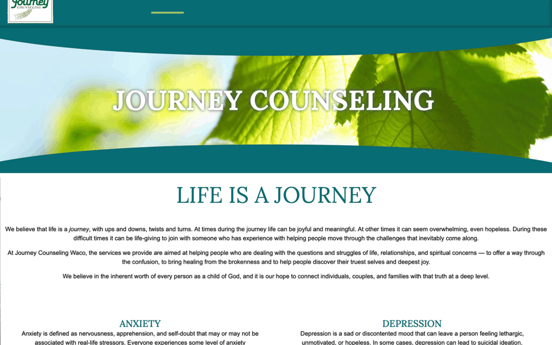 Journey Counseling Website