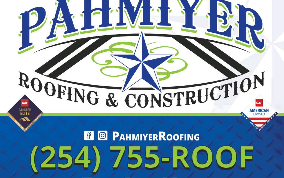 Pahimyer Roofing Yard Sign