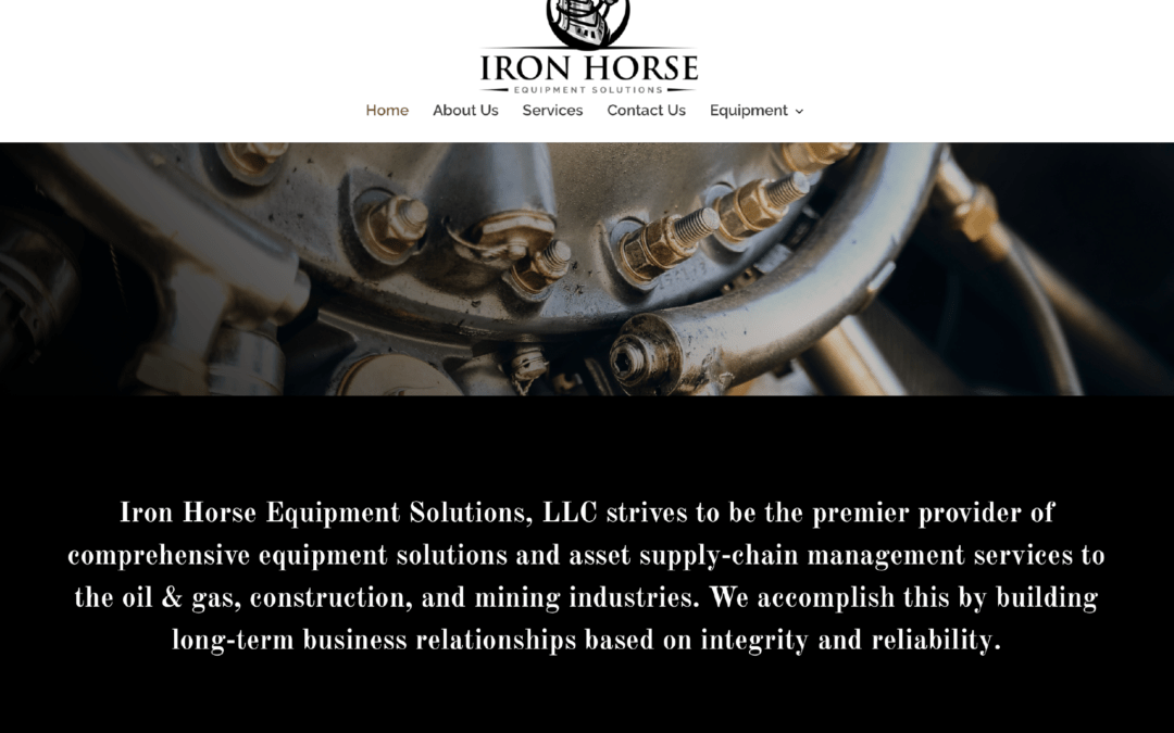 Iron Horse Equipment Solutions Website