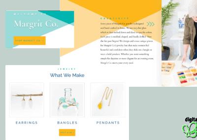 Margrit Co. Website Rebranding