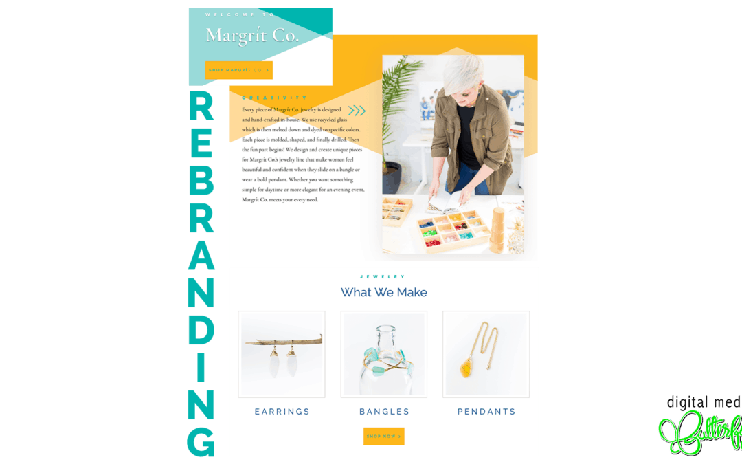 Margrit Co. Website Rebranding