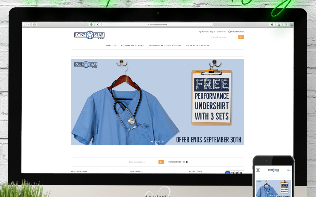 Lone Star Scrubs Website Wednesday