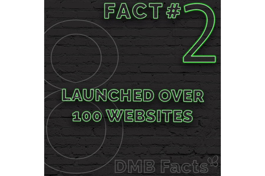 Launched Over 100 Websites
