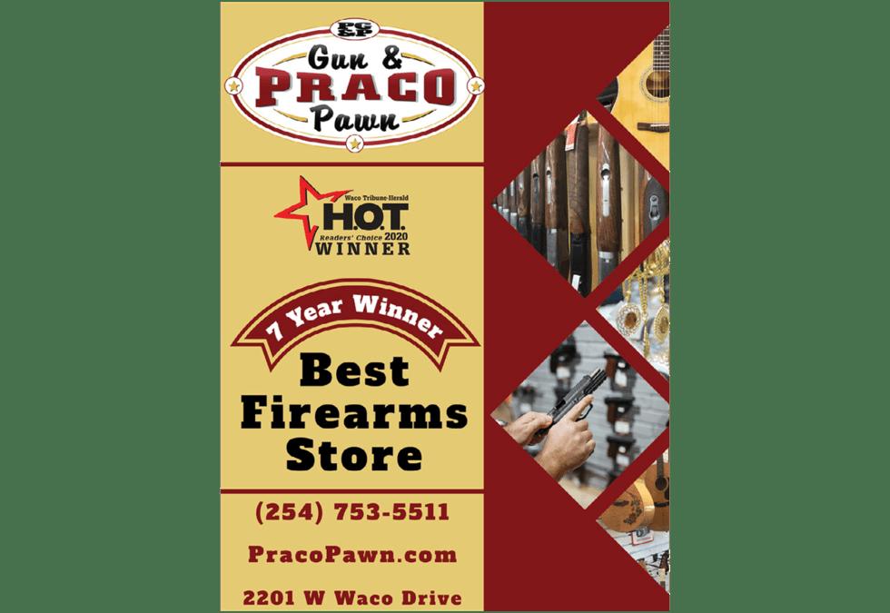 Praco Gun & Pawn Print Ad