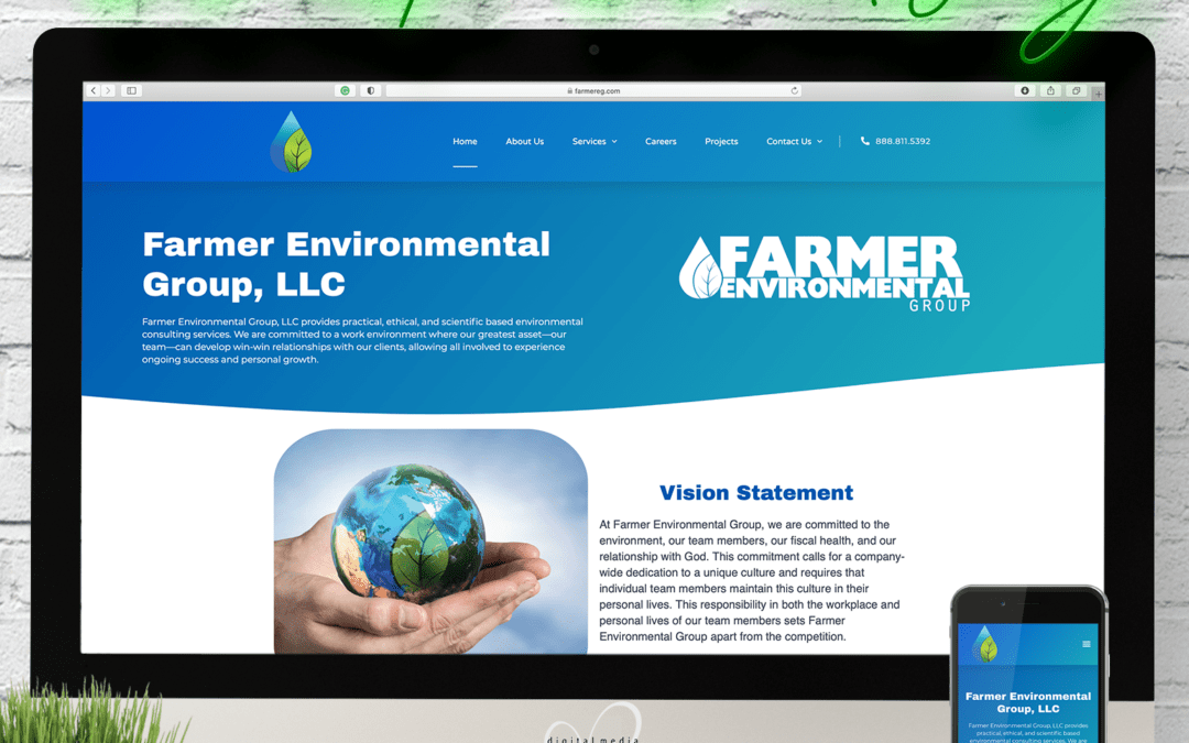 Farmer Environmental Group Website Wednesday