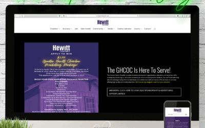 Hewitt Chamber of Commerce Website Wednesday