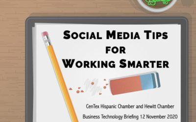 Social Media Tips for Working Smarter