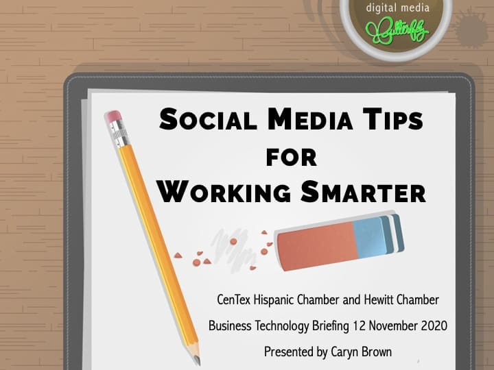 Social Media Tips for Working Smarter