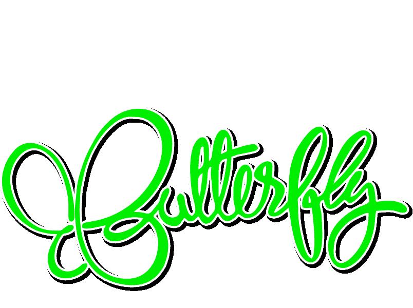 Digital Media Butterfly Logo