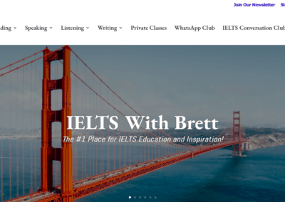 IELTS with Brett Website