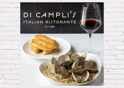 Photography for Di Campli's Italian Ristorante