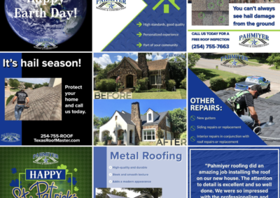 Pahmiyer Roofing Social Media