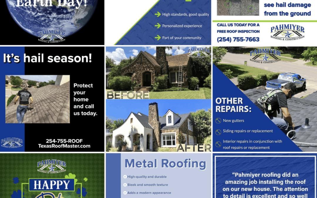 Pahmiyer Roofing Social Media