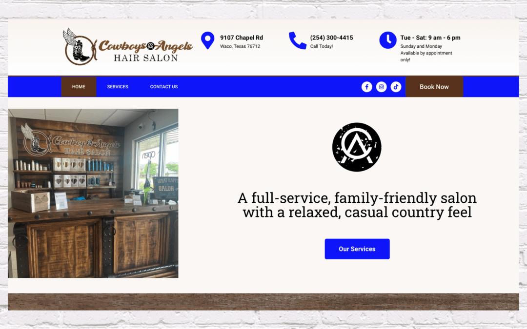 Cowboys & Angels Website