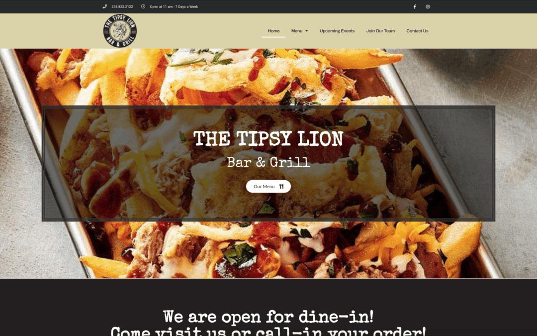 Tipsy Lion Website